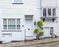 A white house seen in Rye, Kent, UK Stock Image