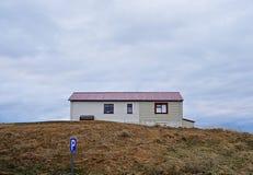 Icelandic house Stock Image