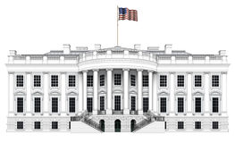 White House South View Stock Images