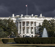 White House Storm Sky Royalty Free Stock Image