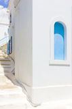 White house in Tinos Island,Greece Royalty Free Stock Images
