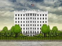 White House Tower Stock Photography