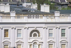 White House, a view of private quarters, Washington, DC Royalty Free Stock Image