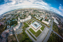 White House in Vladimir, Russia Royalty Free Stock Image