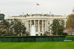 White House, Washington, DC. White House facade, Washington, DC Royalty Free Stock Photos