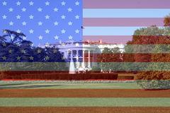 White house Washington DC Royalty Free Stock Photo