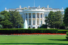 The White House in Washington DC Stock Images