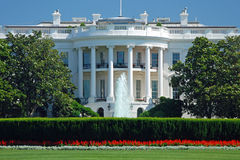 The White House in Washington DC Stock Photos