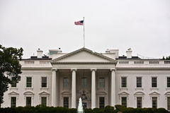 White House in Washington DC Stock Photo