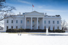 White House, Washington DC. This is the White House in Washington DC on a Winter day Stock Images