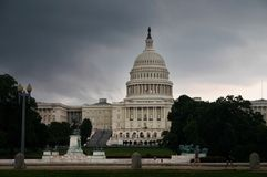 The white house in Washington. The white house in DC Royalty Free Stock Photography
