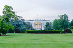The White House in Washington DC. At dusk royalty free stock photography