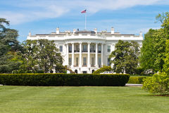 The white house in washington DC Royalty Free Stock Photos