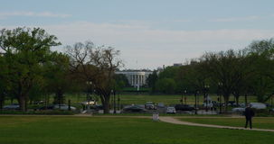 White House, Washington, DC stock video footage