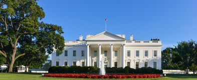 The White House - Washington DC, United States. The White House in a clear day - Washington DC, United States Stock Photo