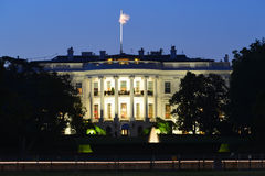 The White House - Washington DC, United States. The White House at night - Washington DC, United States Royalty Free Stock Images