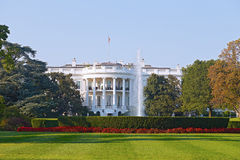 The White House in Washington DC. Royalty Free Stock Images