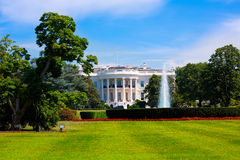 The White House in Washington DC USA. United States Royalty Free Stock Images
