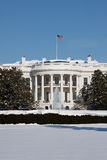 White House, winter. The White House is the official residence and principal workplace of the President of the United States Royalty Free Stock Photography