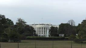 White house landmark stock video footage