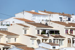 White houses in Altea Stock Photo