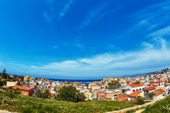 White houses of Chania city Royalty Free Stock Image