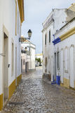 White houses at Faro, portugal Royalty Free Stock Image