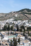 White houses in Granada Stock Images