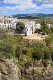 Ronda Houses on a Rock Stock Image