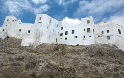 White houses on the mountain Royalty Free Stock Images