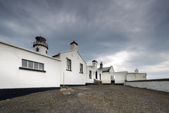 White houses in North Ireland Stock Photography