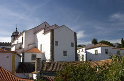 White houses of Obidos, Portugal Stock Photo