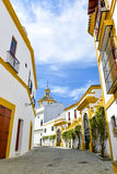 White houses of seville Stock Photos