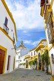 White houses of seville Stock Photos