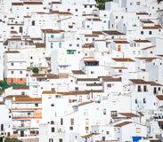 White houses Spanish Royalty Free Stock Photo