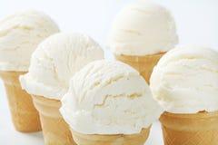 White ice cream cones Royalty Free Stock Photo