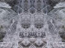 White ice surface texture Stock Photos