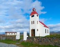 White icelandic church Stock Images