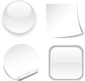 White icons. Royalty Free Stock Images