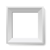 White image and photo frame. Vector. White image and photo frame. Vector illustration Stock Photo