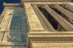 White imposing monument in Rome Stock Photo