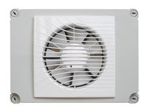 White Industrial Plastic Fan Royalty Free Stock Photo
