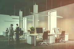 White Industrial Style Company Office People Stock Photo Image Of Background Corporate 122384788