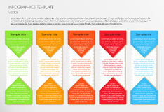 White infographic Royalty Free Stock Photos