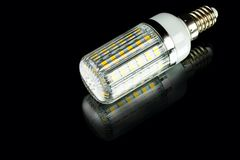 White innovation energy-saving corn LED bulb Royalty Free Stock Images