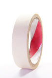 White insulation tape. On white background Royalty Free Stock Photography