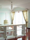 White interior. Room, interior design, home comfort Royalty Free Stock Photo