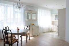 White interior Stock Image