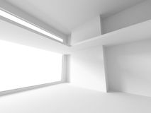 White Interior Abstract Architecture Background Royalty Free Stock Image