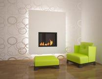White interior concept Stock Images
